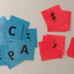 Alphabet & Accidental Cards