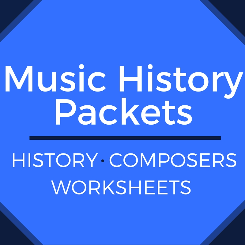 Music History Worksheets | Piano with Lauren