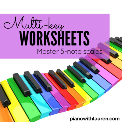 multi-key worksheets