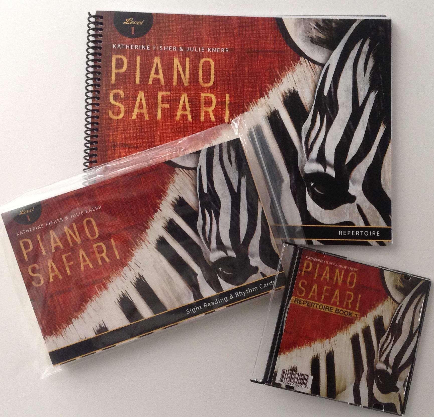 PIANO SAFARI Interval Cards Level 1 Fisher