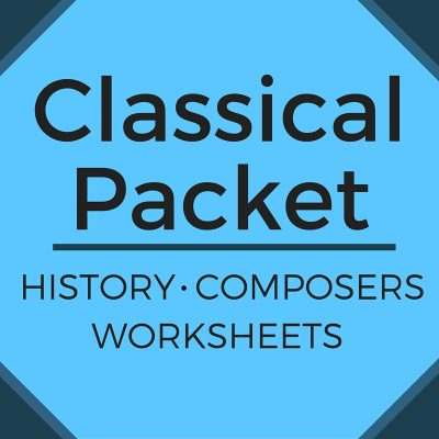 Classical Worksheets
