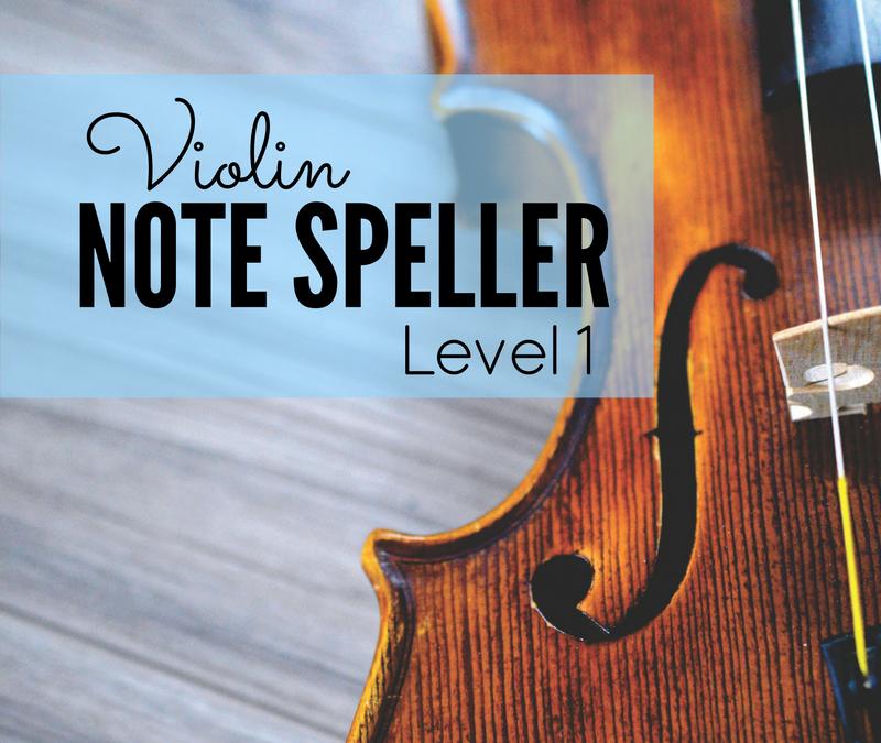 Violin Note Speller for Beginners