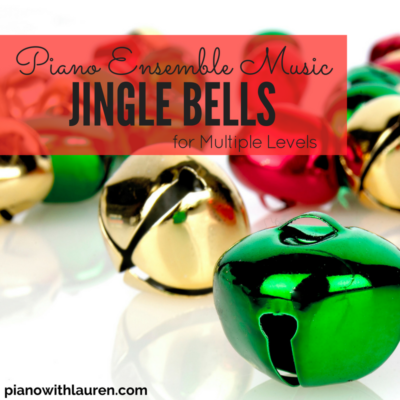 jingle bells piano ensemble music