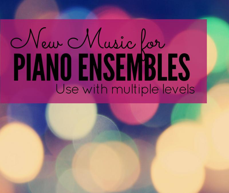 New Piano Ensemble Music