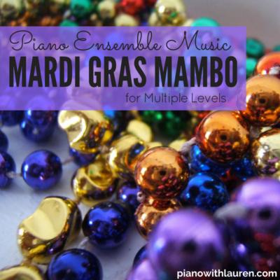 Mardi Gras Mambo Piano Ensemble