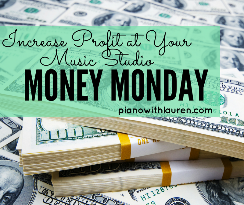 Money Monday – Tips to Increase Profit at Your Music Studio
