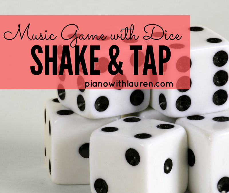 A Music Game with Dice! Shake & Tap